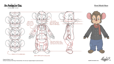 AAT V Project - Fievel INCOMPLETE Model Sheet by Maxl654