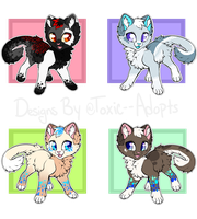 Feline Adopts [OPEN] by Toxic--Adopts