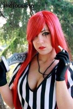 Katarina Red Card Cosplay [Leage of Legends] by BeItUkI