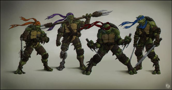 TMNT 3 by DeadPea