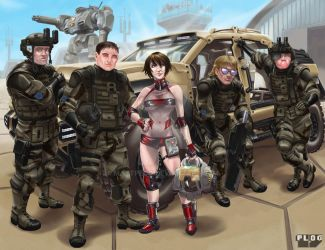 Comm: Combined Arms Squad by mattPLOG