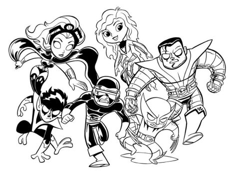 Xmen_Blair style_ WIP by tombancroft