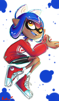 Chelle the inkling by Eokoi