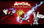 Avatar Fire Nation Dazzlings by dan232323