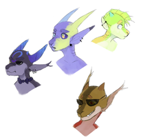 Oxy Doodles by Woshiwoosh