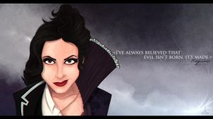 Regina Mills/Evil Queen by STACH2606