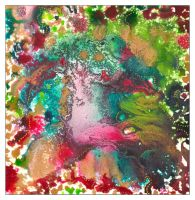 Christmas abstract by amyhooton
