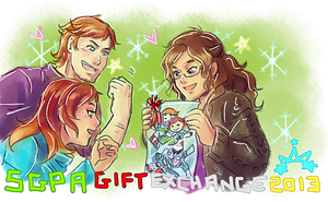 SGPA Gift Exchange 2013 by Meibatsu