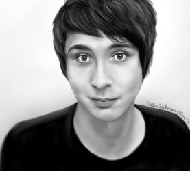 Dan Howell by icakeyyy