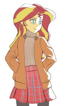 Sunset Shimmer Swaeter by Montano-Fausto