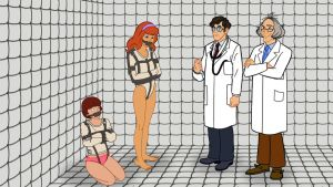 Daphne and Velma - Asylum Investigation Failed by VictorZulu