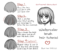 Hair Shading Tutorial by Extremol