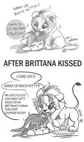 Lion Quinn's reaction to KISS by SolitaryRoyalty