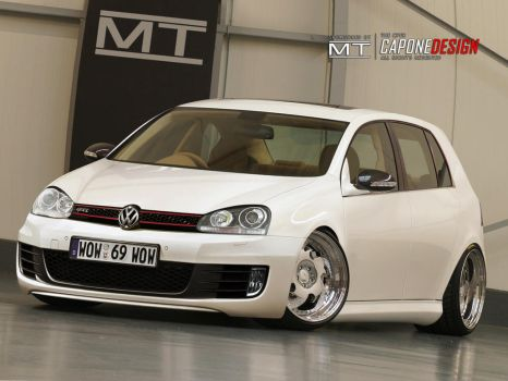VW Golf  2 Days of Work COMP by CaponeDesign