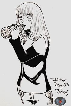 Inktober Day 23- Juicy by vicfania8855