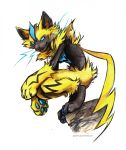 Zeraora by kenket