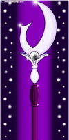 Sailor Saturn's Silence Glaive by Sweet-Blessings