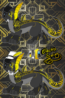 Electro Swing: Saberiok -CLOSED- by MonsterMeds
