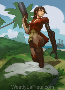 Primrose 'The Iron' Cannonade by WestlyLaFleur
