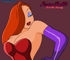 Jessica Rabbit, Red Hot Beauty by ShadowNinjaMaster