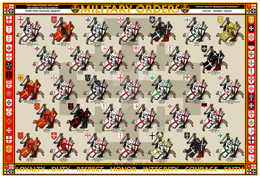 Military Orders - William Marshal Store.com by williammarshalstore