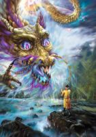 The Yellow Dragon by emmagucci