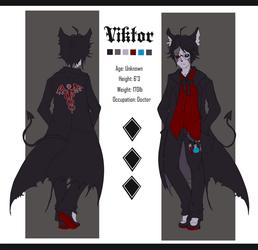 Viktor Simple Ref Sheet by l3ombyx