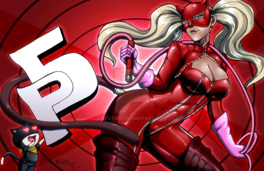 Persona 5 Ann Takamaki aka Panther Colors by Bfetish