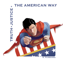 The Man of Steel (vector drawing) by kfairbanks