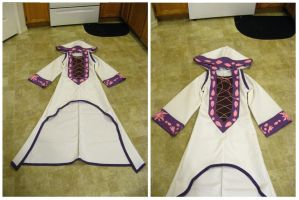 White Mage Rapunzel Robe by Ever-smiling