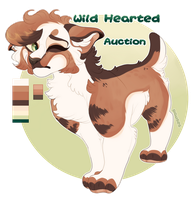 Wild hearted || Auction by Pawses
