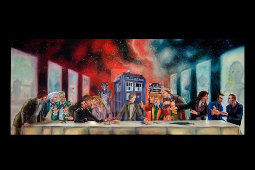 Doctor Who Last Supper Parody by teutelquessir