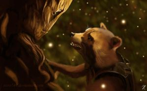 We are Groot by zanephiri