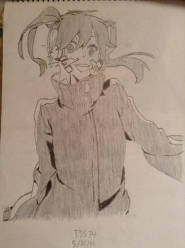 Ene Mekakucity Actors by TheSaiyanSketcher34