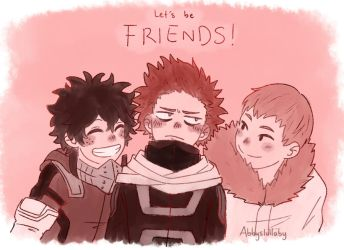 [BNHA] lets be friends!! by Abbyslullaby