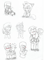 Kylexia cuteNESS doodles (south park) by Kitshime-SP