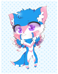 /-.-\-.-/ Token ~ Chibi Commissioned Art \-.-/-.-\ by Uno7Plus