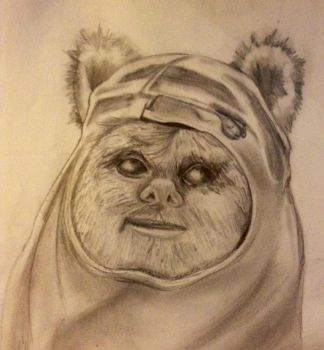 Wicket the Ewok by Lilmissandrea89