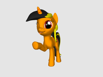 Spajkia from Pony Creator 3D by SpikeRq