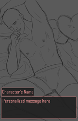 [CLOSED] Dating Sim Valentines YCH (Masculine) by Qu-Ross