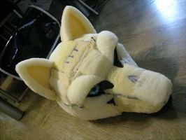 Wolf Fursuit WIP 2 by wolfblackwing