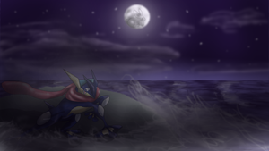 Greninja by Cinnamon-Quails