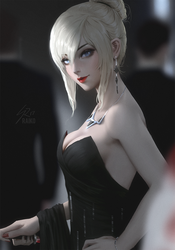 she'll take your heart but you won't feel it by raikoart