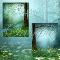 Fairy Wood 2 small pack by moonchild-lj-stock