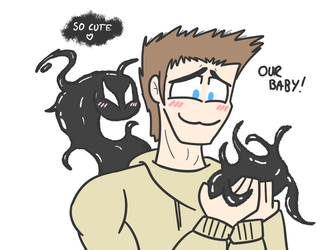 Venom and Eddie 02 by PurrV