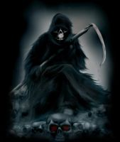 grim reaper by Kathamausl