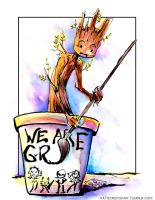 We Are Groot by GalacticDustBunnies