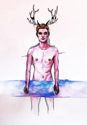 Deer Boy by youngartt