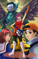 FLCL by TyrineCarver