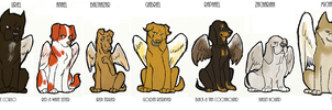 SPN dogs-Angels by Sammaella